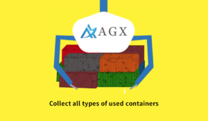 Collect all types of used containers