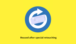 Reused after special retouching