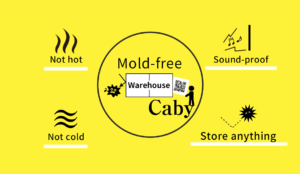 Mold-free Warehouse Caby